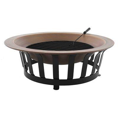 "39"" Solid Copper Fire Bowl Pit"