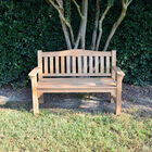 Teak Raffles Bench | 54-in