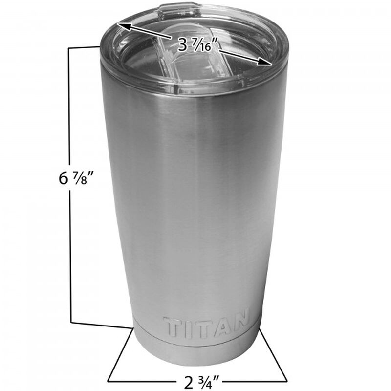 Set of 30 - 20oz Stainless Steel Tumblers