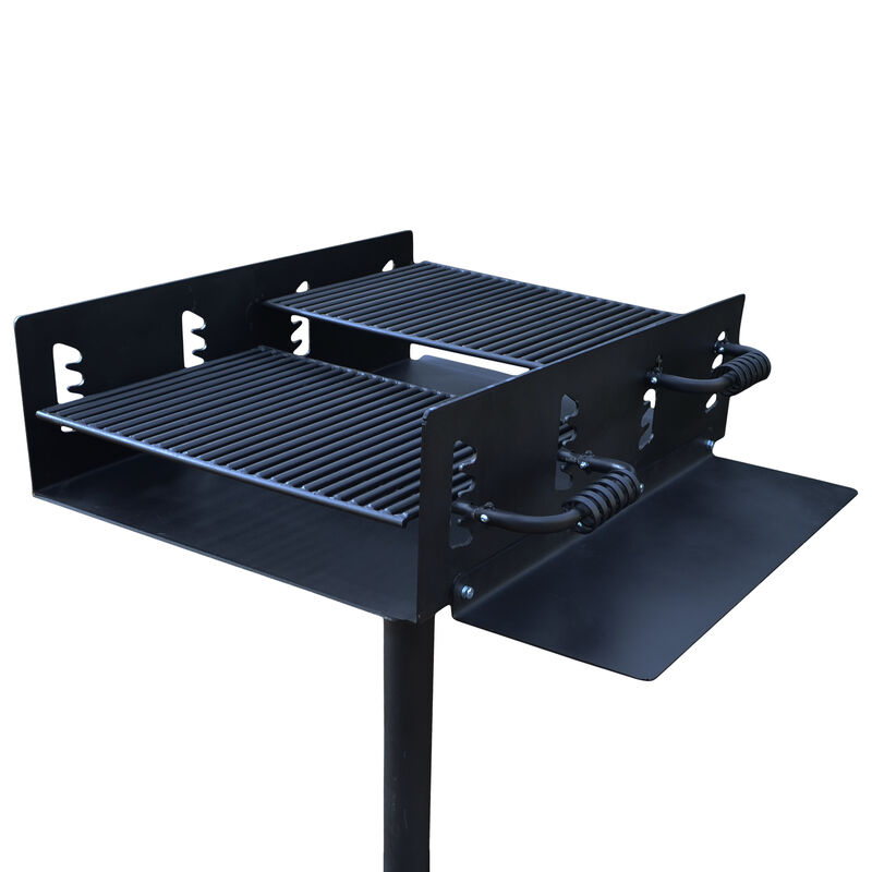 942 Sq. In. Group Park Grill with Shelf
