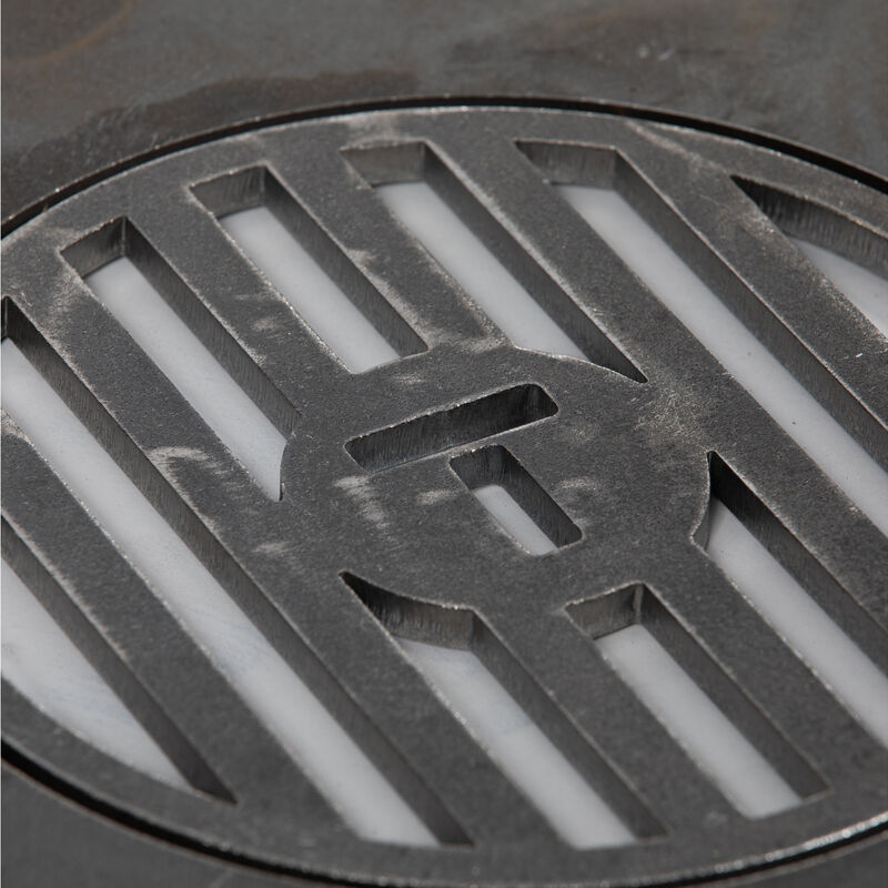 Weber Style Grill Insert With Center Grate