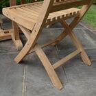 Monaco Teak Folding Chair