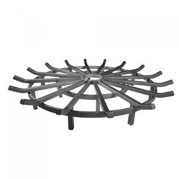 Scratch and Dent - 36-in Wagon Wheel Fire Grate - FINAL SALE