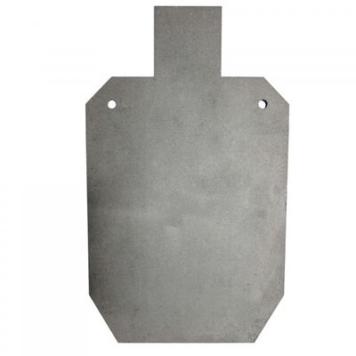 """Scratch and Dent - AR500 Silhouette Steel Plate Shooting Target 20""""x12"""" 3/8"""" Thick - FINAL SALE"""