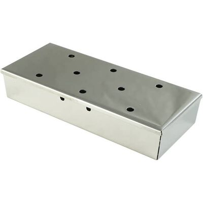 Stainless Steel Barbecue Grill Smoker Box