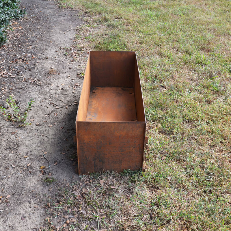"Corten Steel Planter Box | 47"" x 16"" x 16"""