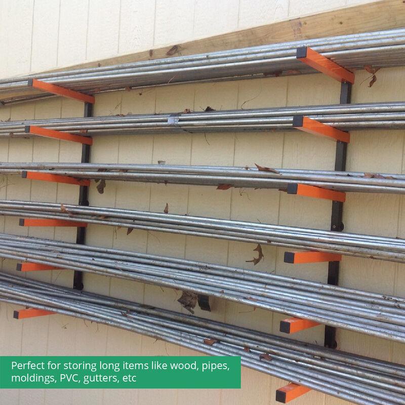 6-Shelf Lumber Storage Rack