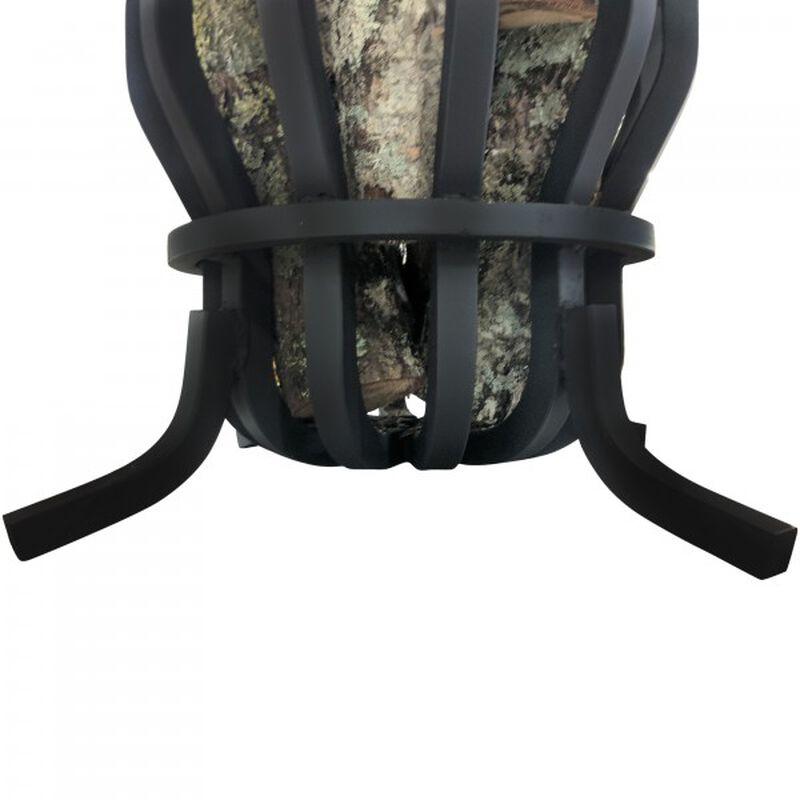"""1"""" Solid Steel Self-Feeding Fire Pit Basket"""