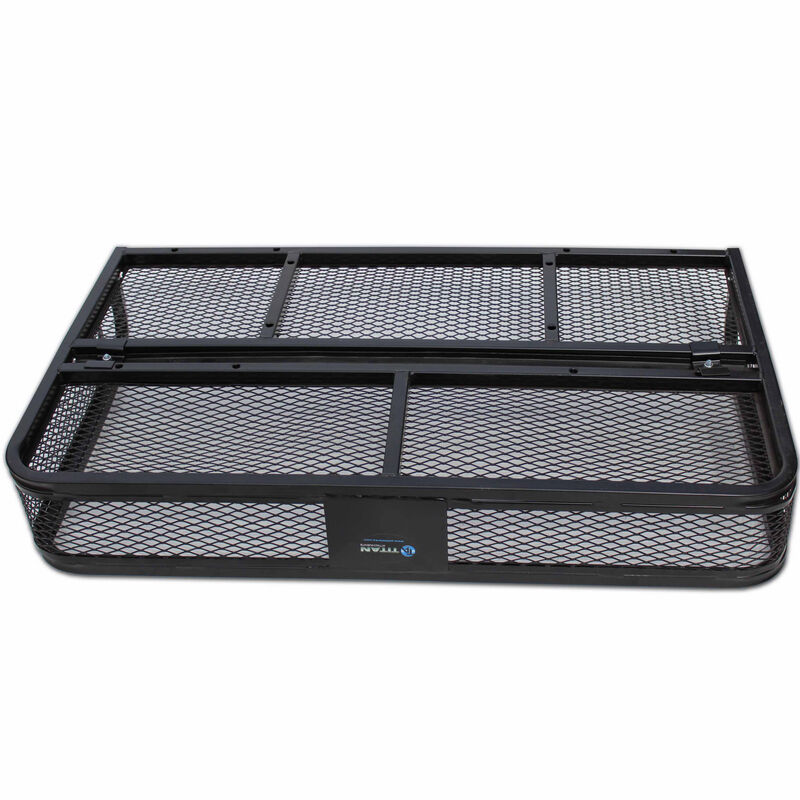 Universal ATV Steel Mesh Rear Cargo Basket Rack