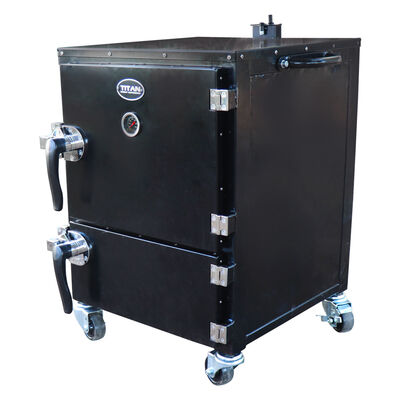 Reverse Flow Vertical Meat Smoker Box