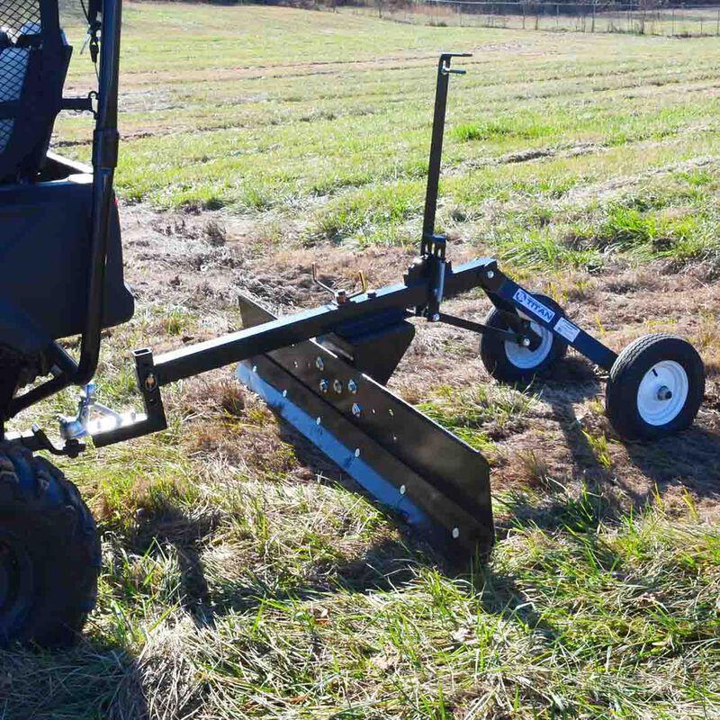 6 FT ATV Transformer Tow Frame With Grader Blade Attachment
