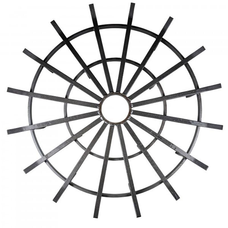 36-in Wagon Wheel Fire Grate