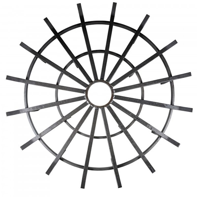 "36"" Wagon Wheel Fire Grate"
