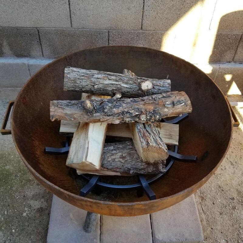 24-in Wagon Wheel Fire Grate