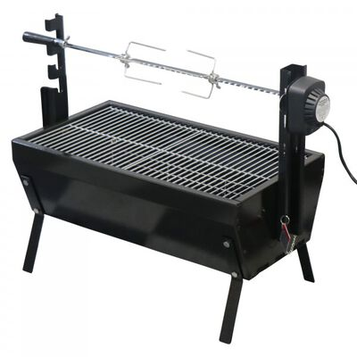 28" Stainless Steel Spit Rod Rotisserie Grill | v2