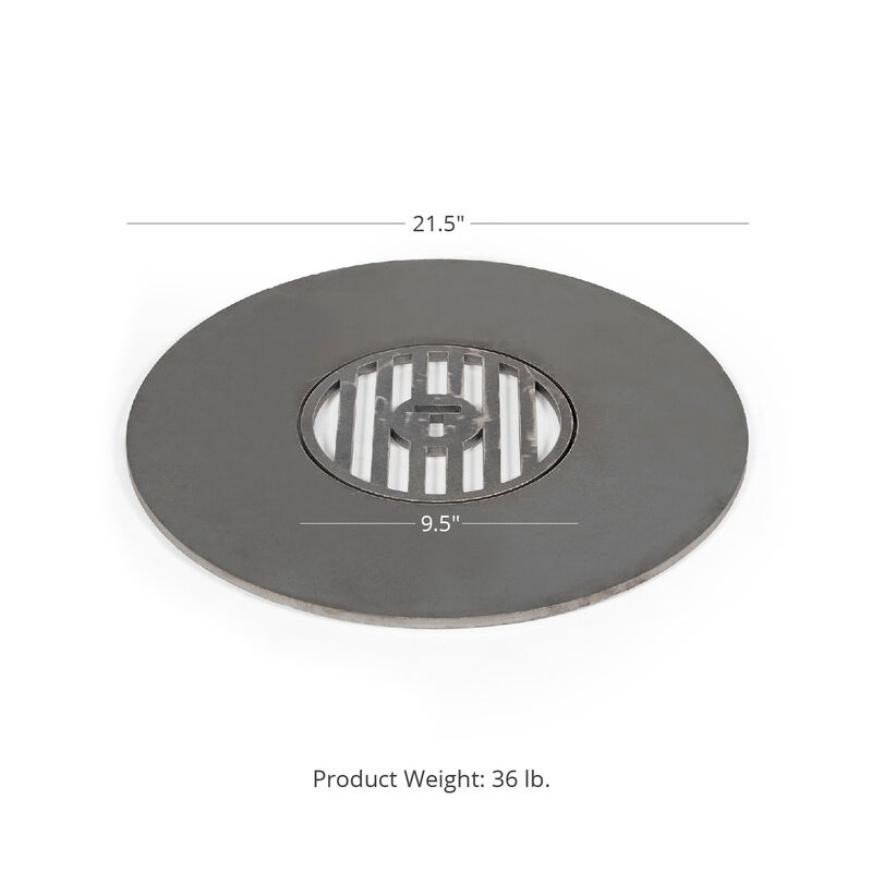 22-in Weber Style Grill Insert With Center Grate