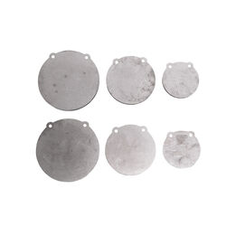 2 Sets of AR500 Steel Shooting Targets – 6-in. 8-in. 10-in. x 1/2-in Thick