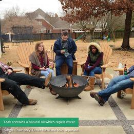 Scratch and Dent - Teak Adirondack Chair - FINAL SALE
