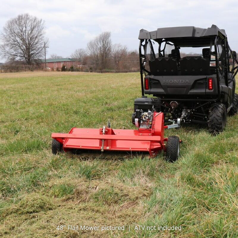 40-in ATV Tow-Behind Flail Mower