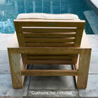 Set of 2 Teak Havana Chairs