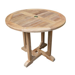 """Grade A Teak 35"""" Round Dining Table"""