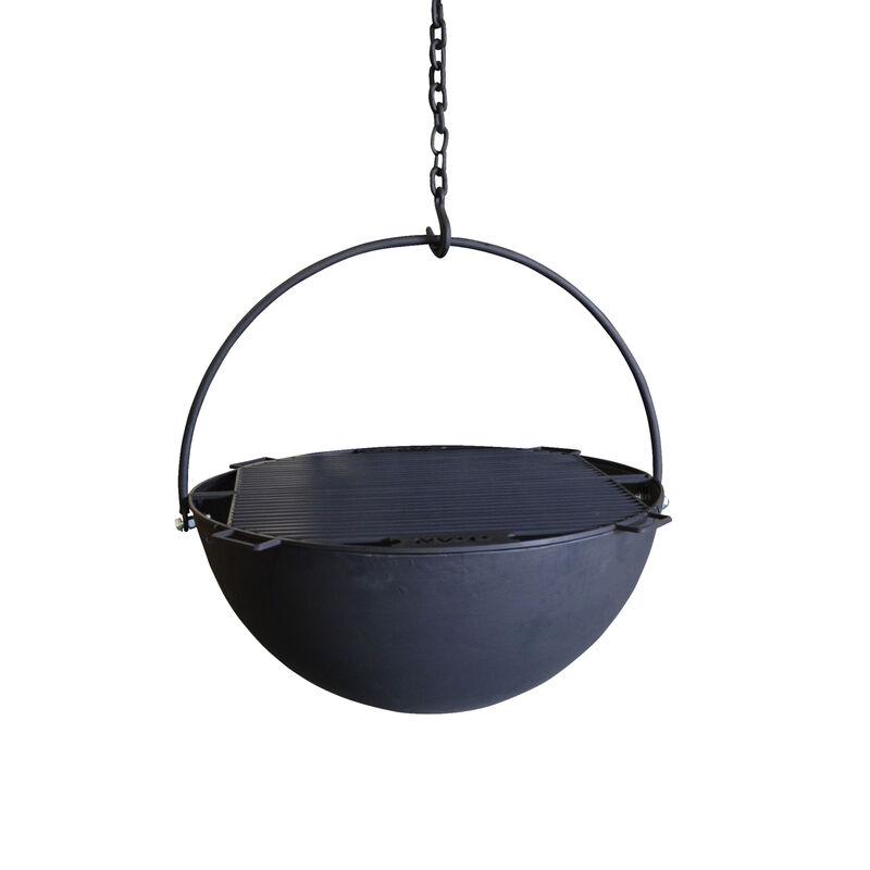 """42"""" Cauldron Fire Pit Bowl DIY"""
