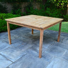 Teak Bistro Table | 47-in