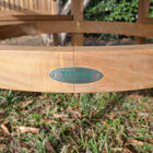 """Grade A Teak 59"""" Round Dining Table"""