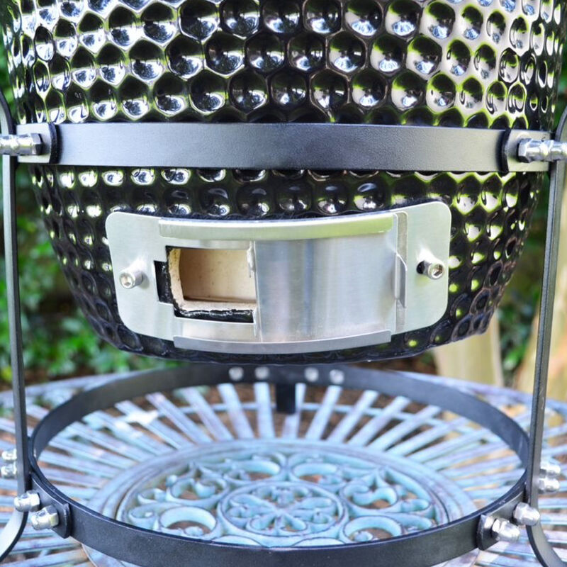 10-in Kamado Ceramic Charcoal Grill