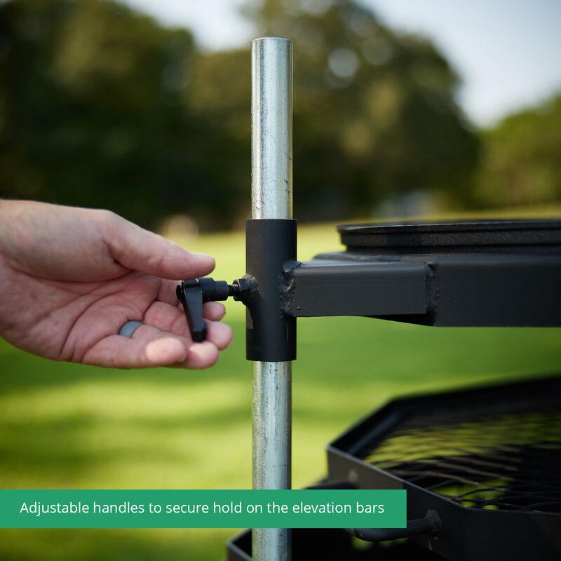 Adjustable Octagon Safari Grill
