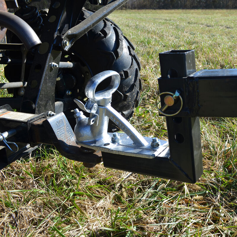 4 FT ATV Transformer Tow Frame With Landscape Rake Attachment