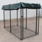 4' x 8' Modular Dog Kennel w/ Sun Shade