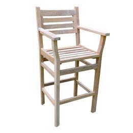 Grade A Teak Arizona Bar Chair