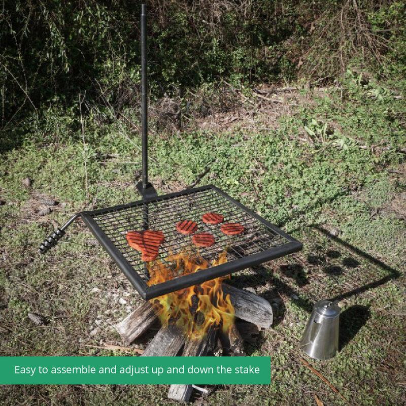 Adjustable Swivel Grill Grate