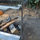 Stainless Steel Adjustable Tuscan Campfire Grill