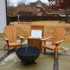 Set of 4 Teak Adirondack Chair