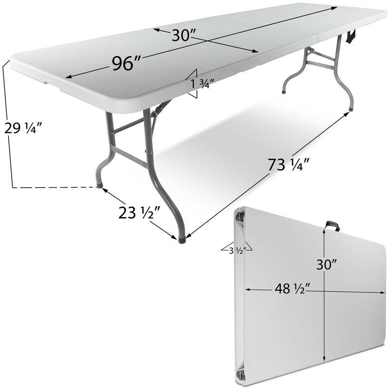 "Set of 10 - 30"" x 96"" Folding Tables"