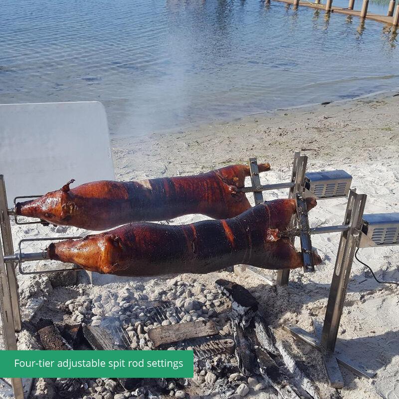 Spit Tripod Rotisserie Roaster Stand
