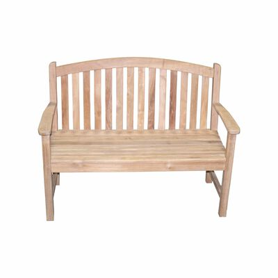 Teak Bow Back Bench | 4'