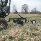 4 FT ATV & UTV Transformer Tow Frame With Grader Blade Attachment - Plow & Tiller Accessory
