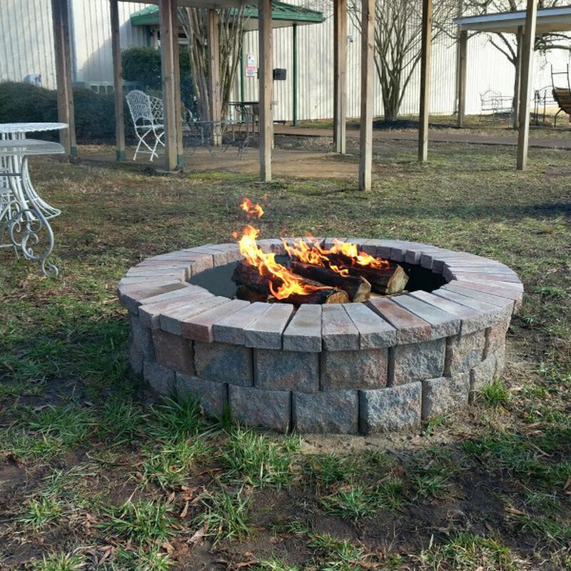 "20"" Wagon Wheel Fire Grate"