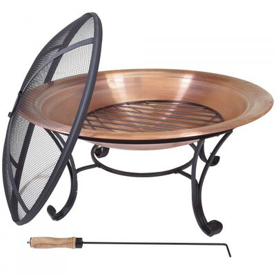 "29"" Copper Outdoor Fire Pit"