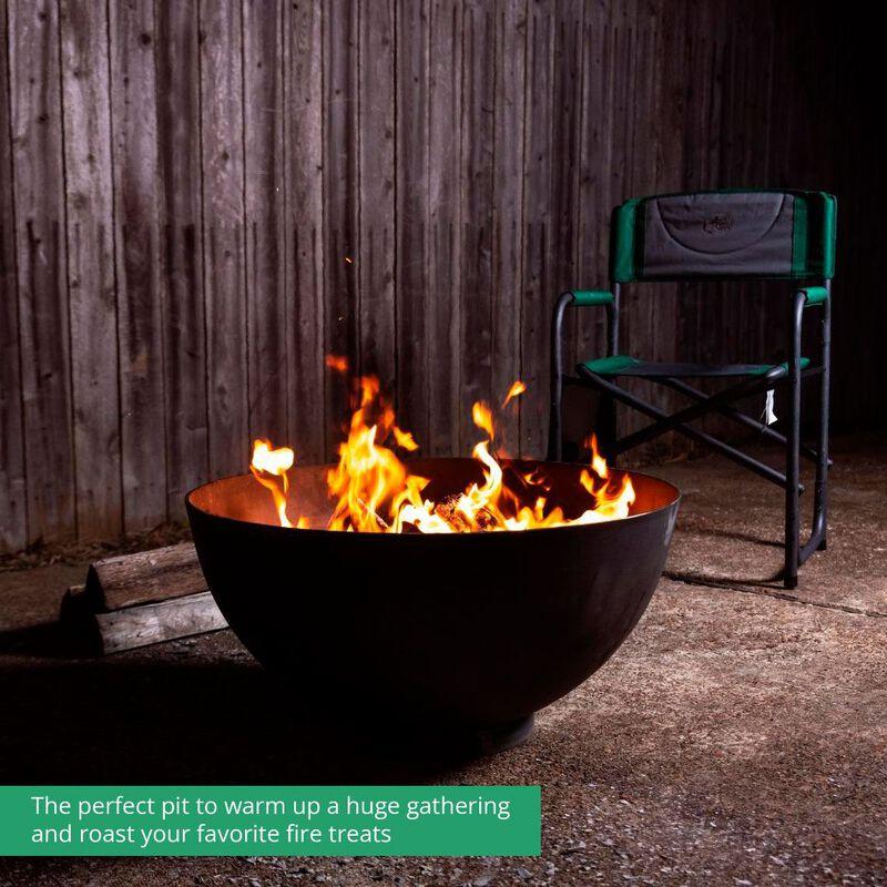 29-in Hemisphere Fire Pit