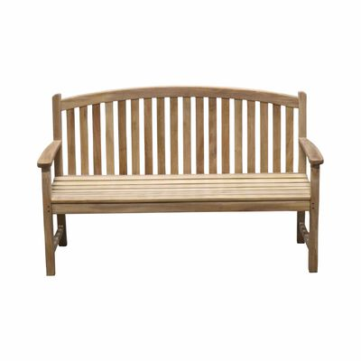 Teak Bow Back Bench | 5-ft