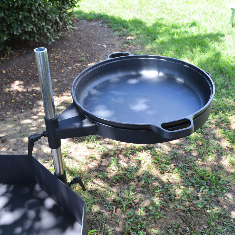 Portable Open Flame Grill | Open Flame Adjustable Cooker System
