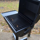 390 Sq. In. Covered Park Grill with Shelf