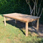 Teak Laurel Table | 79-in