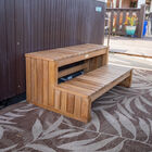 Titan Teak Spa Steps