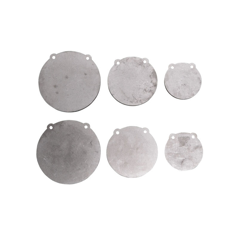 """(2) Sets of AR500 Steel Shooting Targets 6"""" 8"""" 10"""" x 1/2"""" Thick"""