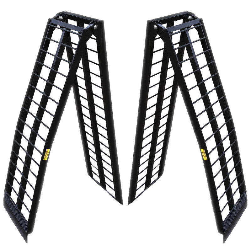 8 FT UTV Heavy-Duty Folding Arch Ramps